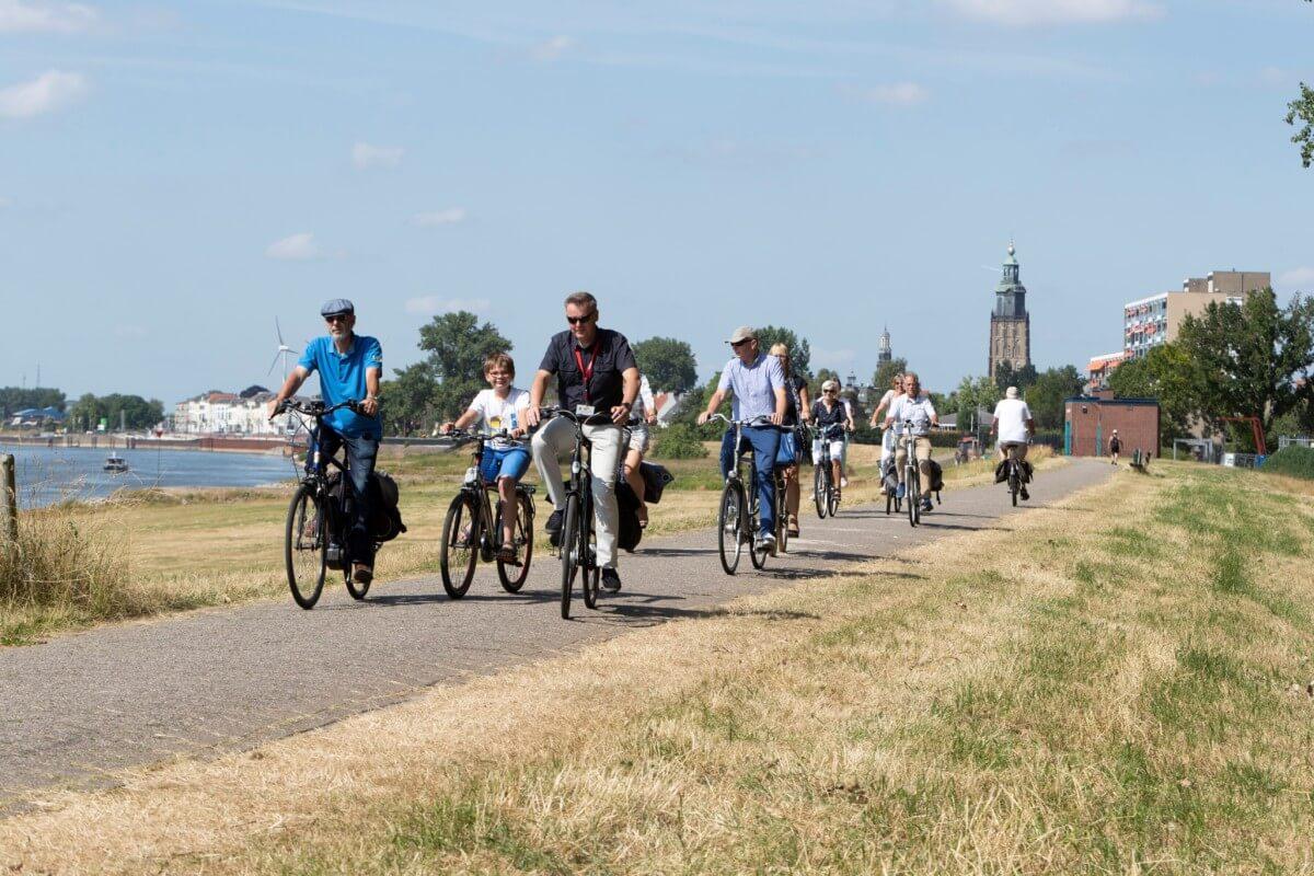 Zutphen per fiets
